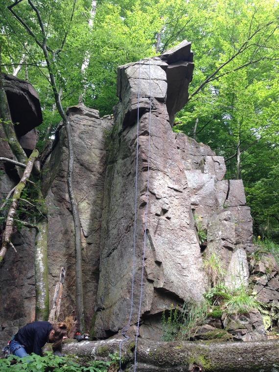 Naken I Skogen