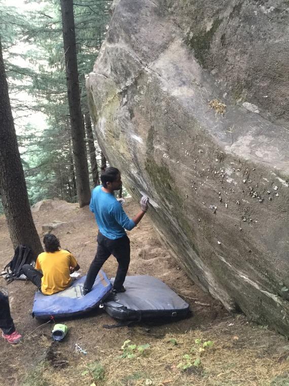Tempe boulder